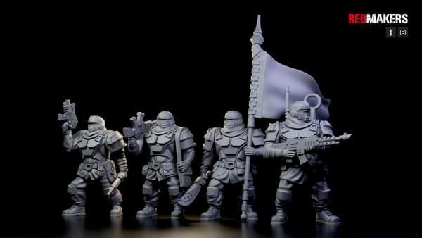 Alpha troops - Command Squad of the Imperial