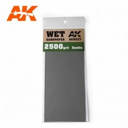 Wet Sandpaper 2500 Grit. 3 units