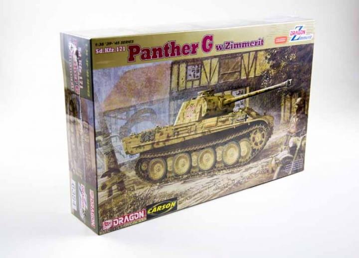 Sd.Kfz. 171 Panther G mit Zimmerit / 1:35