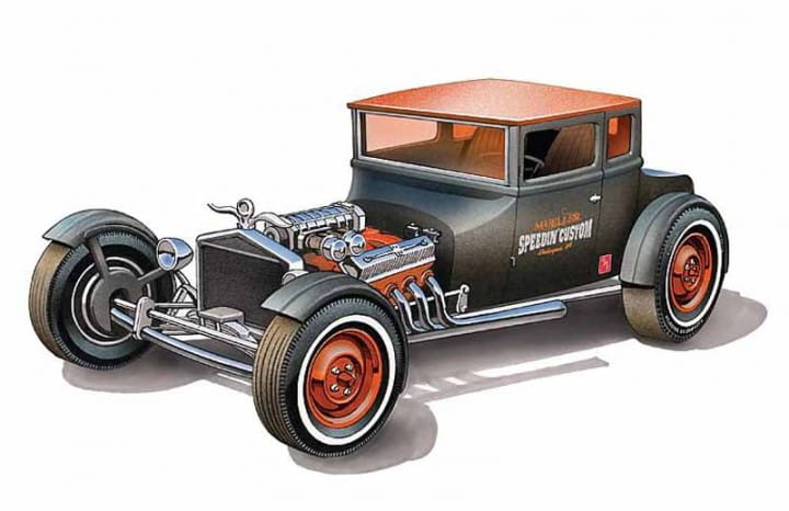 1925er Ford T Chopped / 1:25