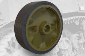 US light tank M5A1/M8 HMC stamped roadwheels set A / 1:35
