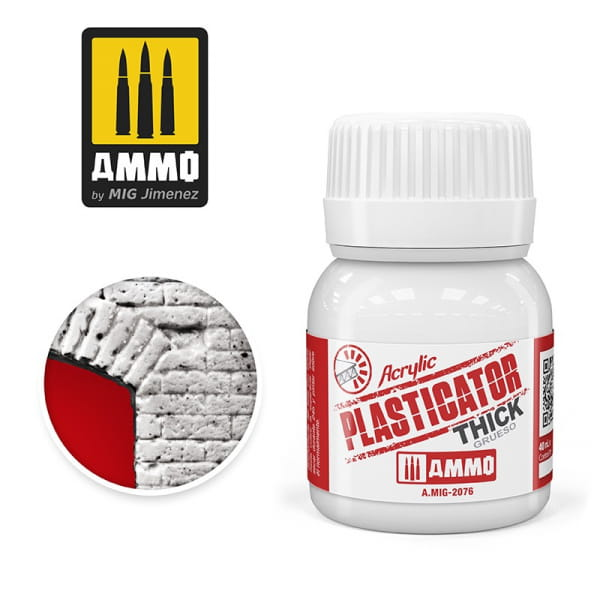 Plasticator Thick ( 40ml )
