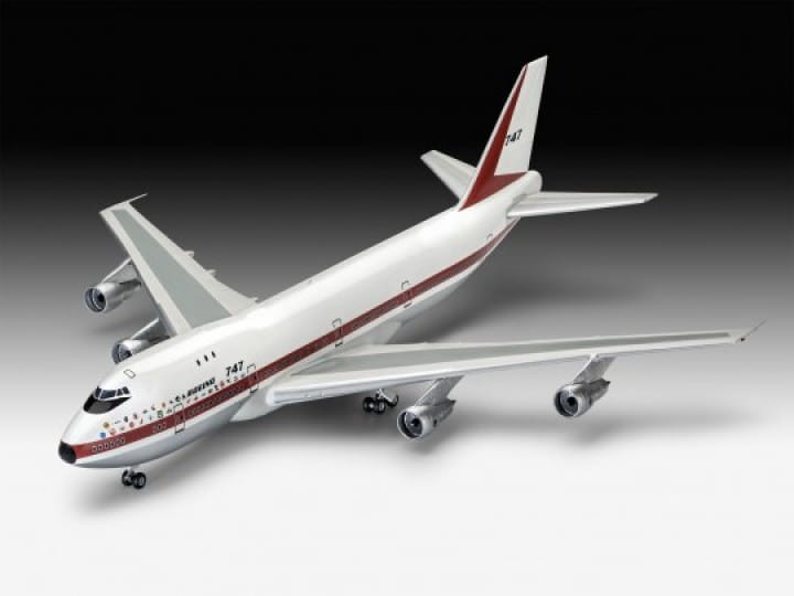 Boeing 747-100, 50th Anniversary / 1:144