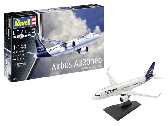 Revell Airbus A320 Neo Lufthansa