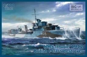 HMS Ithuriel 1942 I-class Destroyer / 1:700