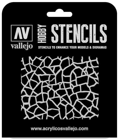 Vallejo Hobby Stencils: Giraffe Camo WWII Markings - 1:32