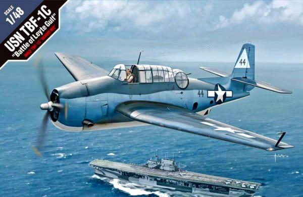 """USN TBF-1C """"Battle of Leyte Gulf""""  / 1:48"""