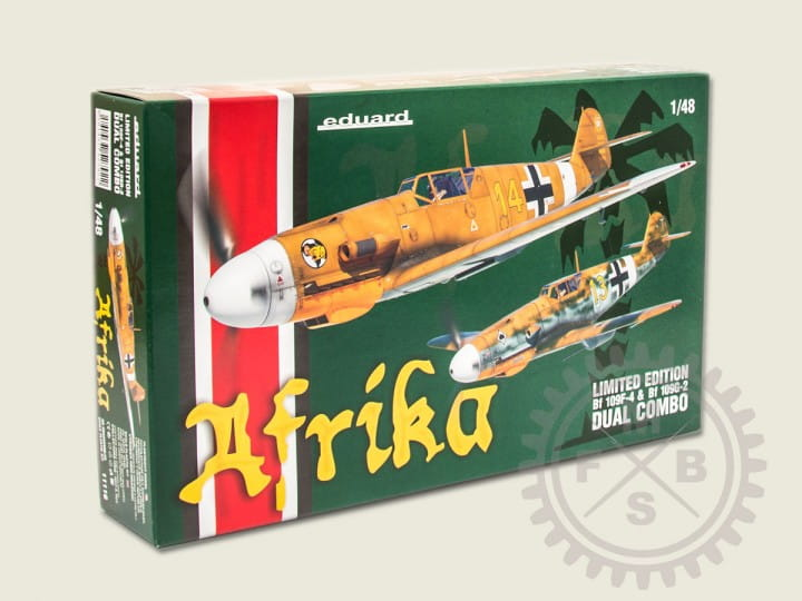 Eduard Models Afrika - Dual Combo - Limited Edition - / 1:48