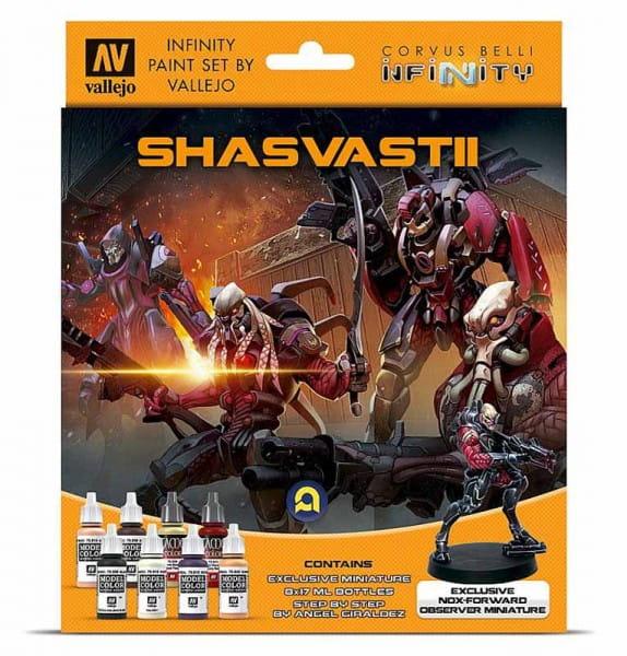 Vallejo Model Color: Infinity Shasvastii Exclusive Miniature Paint Set (8x17ml)