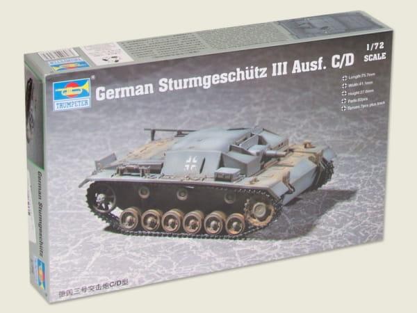 StuG Sturmgeschütz IV Bausatz Grau 1//72 Panzerfahrzeug WW