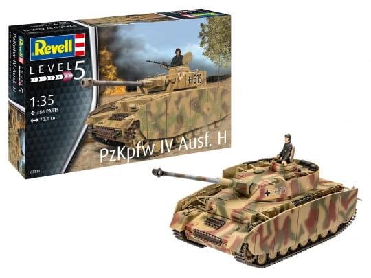 Panzer IV Ausf. H / 1:35