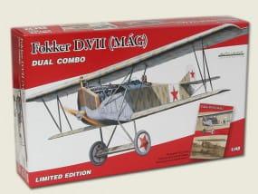 Eduard Kits / Bausaetze Fokker D. VII MÁG - DUAL COMBO / 1:48