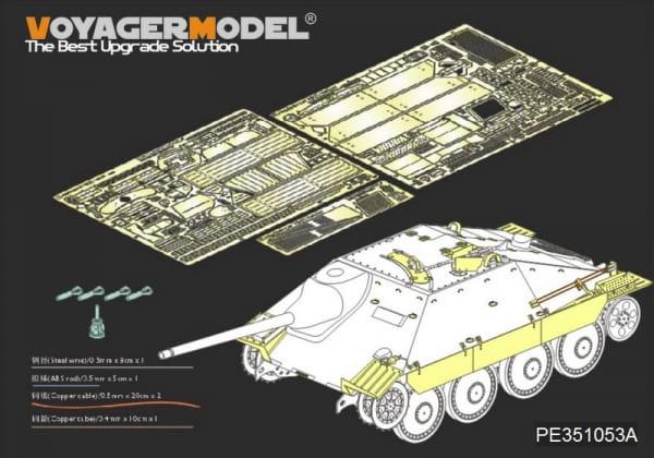 WWII German Sd.Kfz.138/2 Hetzer Tank Destroyer Late Version (For ACADMY 13230/13277) / 1:35