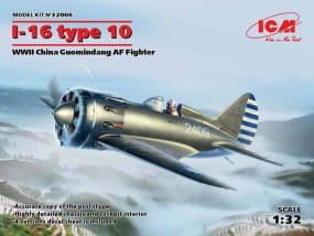 I-16 type 10, WWII China Guomindang AF Fighter / 1:32