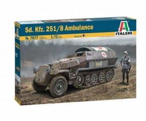 Sd.Kfz. 251/8 Ambulance / 1:72