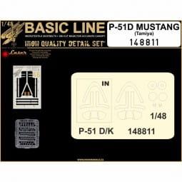 P-51B Mustang - Basic Line - Tamiya - / 1:48
