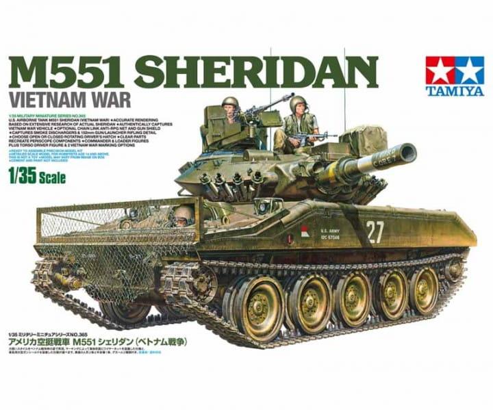 Tamiya US M551 Sheridan Vietnam / 1:35