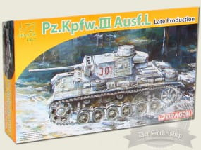 Dragon Models Pz.Kpfw.III Ausf.L Late Production / 1:72