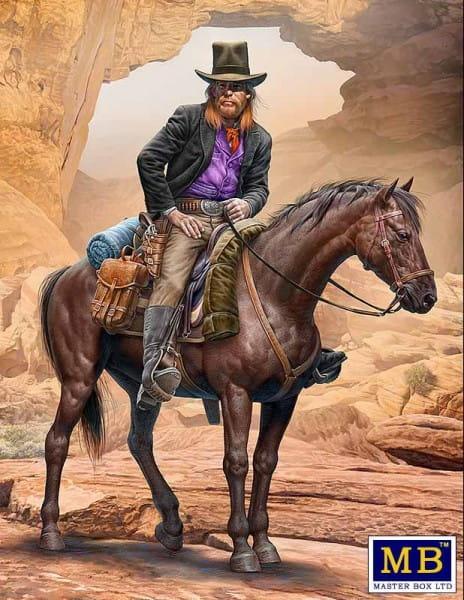 Outlaw. Gunslinger series. Kit No. 2. Gentleman Jim Jameson - Hired Gun / 1:35