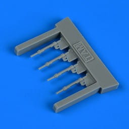 Bf 109G-6 piston rods with undercarriage legs locks - Tamiya - / 1:72
