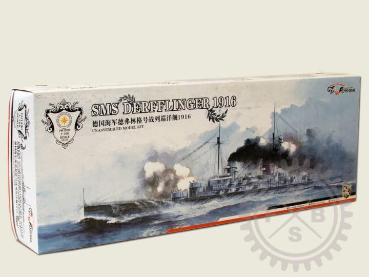 SMS Derfflinger 1916 (waterline Version) / 1:700