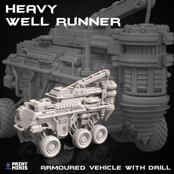 Heavy Well Runner -Dieselpunk Desert Collection-