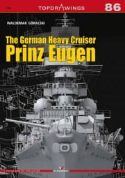 Kagero TopDrawings 86: The German Heavy Cruiser Prinz Eugen