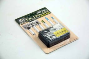 US M1A1/M1A2 M256 120mm Ammo set (Aluminum) / 1:35