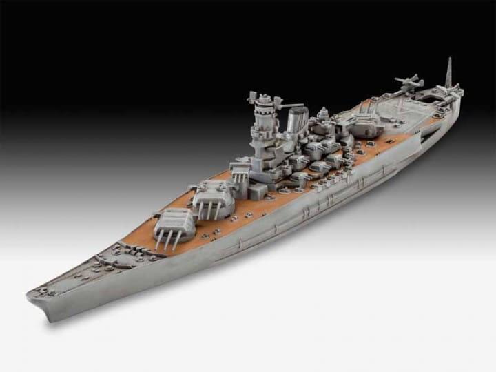 Revell Musashi / 1:1200