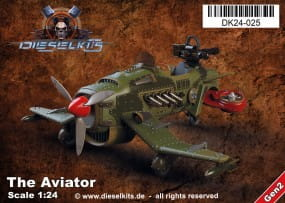 The Aviator - Steam Punk Vehicle / 1:24