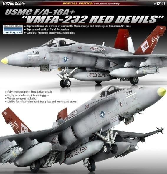 Academy USMC F/A-18A+