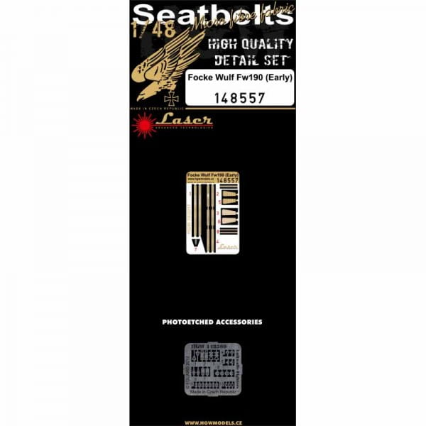 Focke-Wulf Fw 190 (early) - Seatbelts - / 1:48