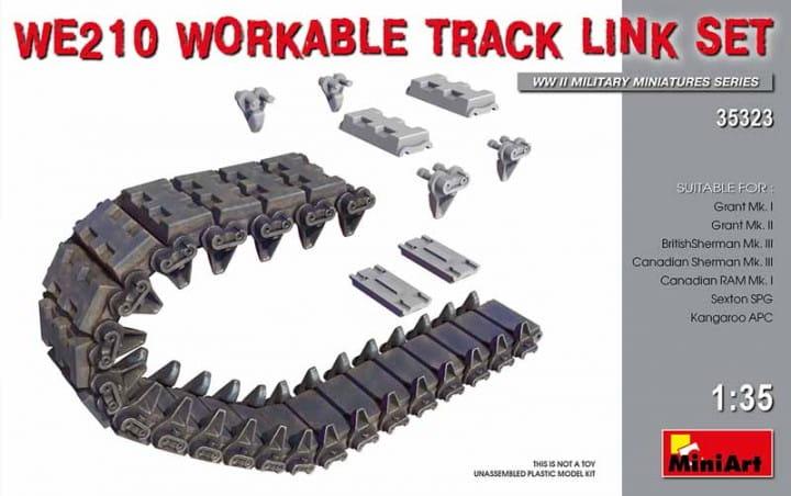 WE210 Workable Track Link Set / 1:35