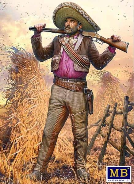 Outlaw. Gunslinger series. Kit No. 3. Pedro Melgoza - Bounty Hunter / 1:35