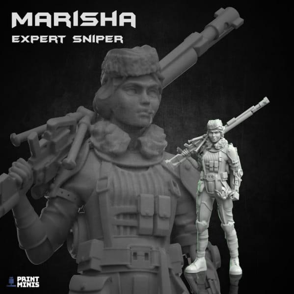Marisha - Expert Kovlovan Sniper - The Iron Guard Collection