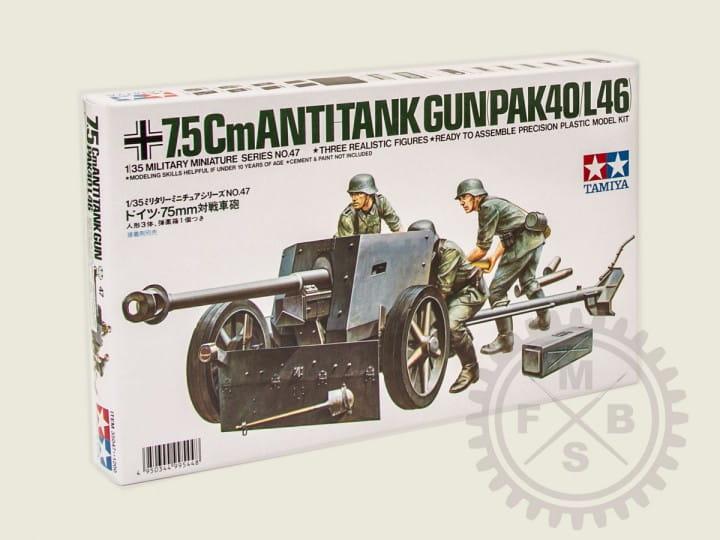 Tamiya 75mm PAK 40/L46 / 1:35