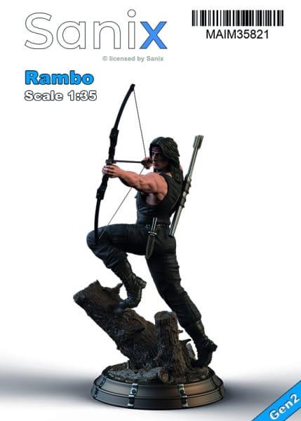 Rambo (incl. Base) / 1:35