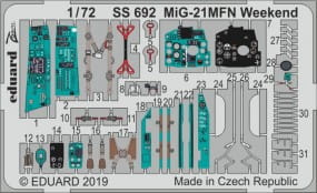 MiG-21MFN Weekend - Eduard - / 1:72