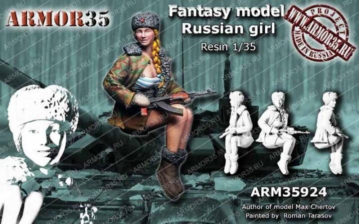 Armor35 Russian Girl / 1:35