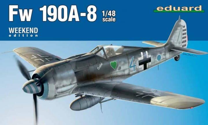 Eduard Models Fw 190A-8 - Weekend Edition / 1:48