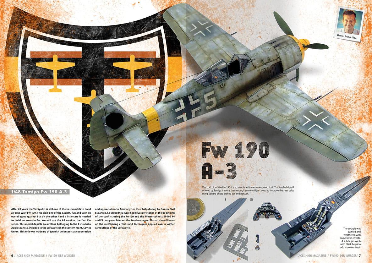 Eduard 1//72 Focke Wulf Fw 190A-8 pré-peint en couleur # SS267