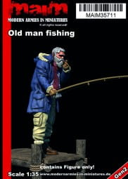 Old man fishing / 1:35