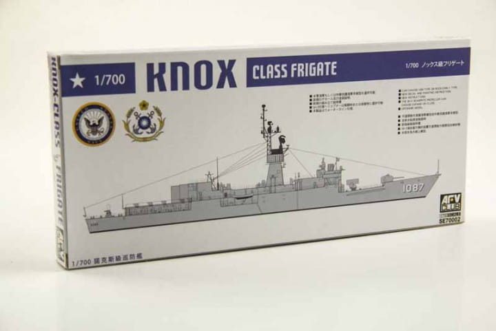 AFV Club Knox-Class Frigate FF-1073 Robert E. Peary - ROC Navy 932 / 1:700