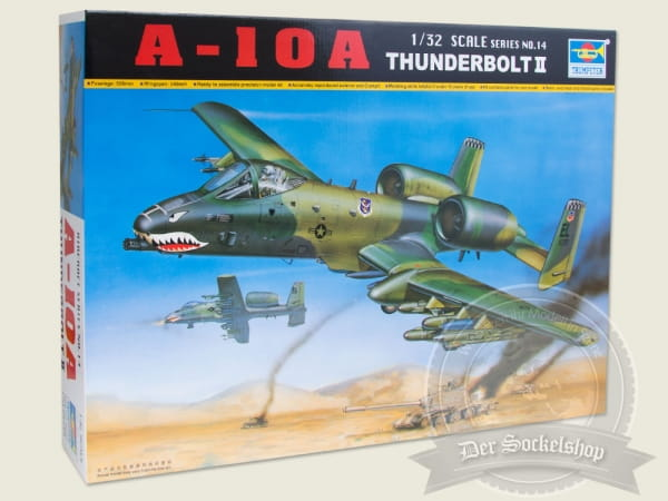 Trumpeter No Tru2214 Fairchild A 10 A Thunderbolt Ii 1 32 Flugzeuge Helikopter Model Kits