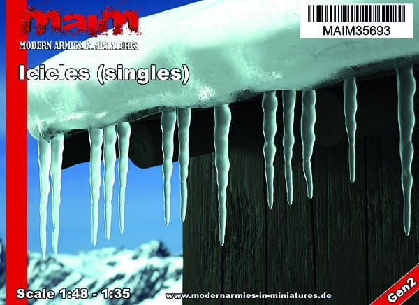 MAiM / Front46 Iccicles - singles / Uniscale 1:48 - 1:35