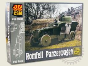 Romfell Panzerwagen / 1:35