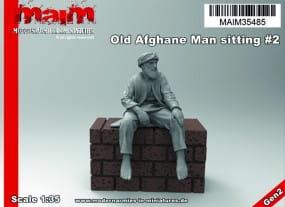 Old Afghane Man sitting #2/ 1:35