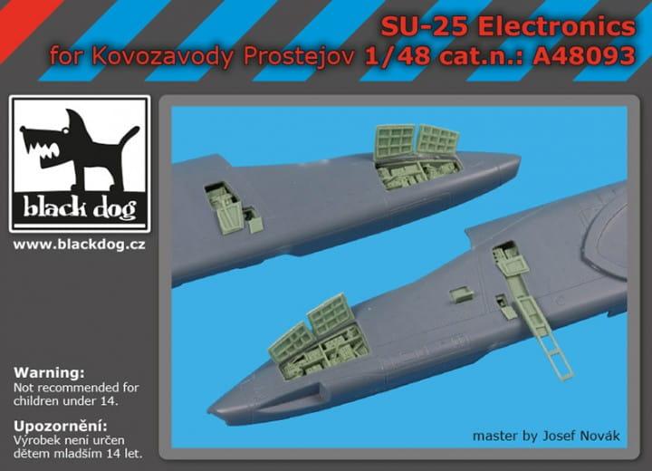 Black Dog SU -25 electronics - KP - / 1:48