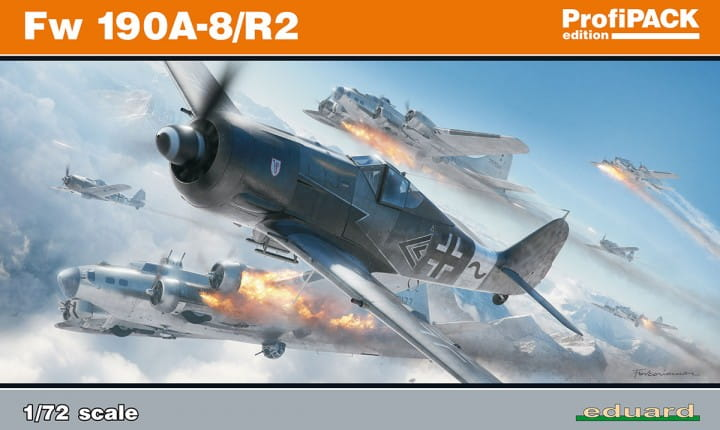 Eduard Models Fw 190A-8/R2 - Profipack - / 1:72