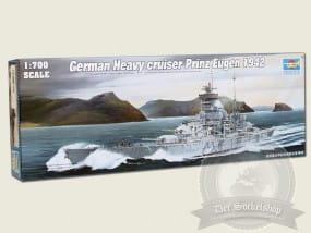 Trumpeter German Cruiser Prinz Eugen 1942 / 1:700